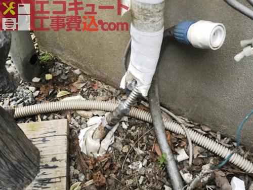 風呂配管工事2